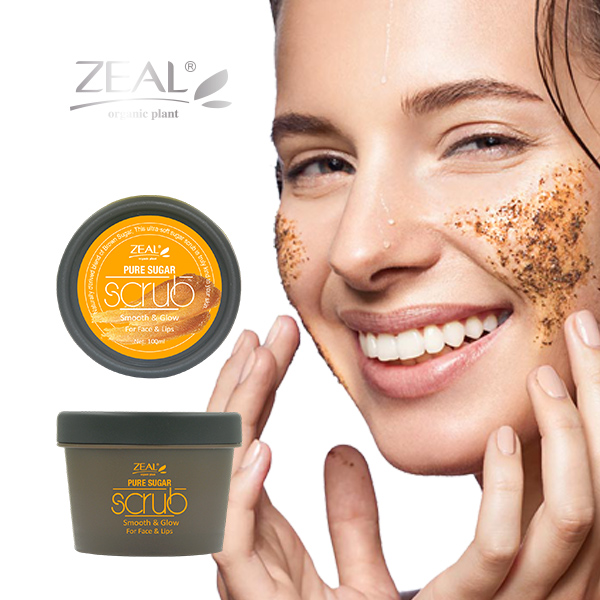 Zeal Pure-Black Scrub Cream for Face & Lips