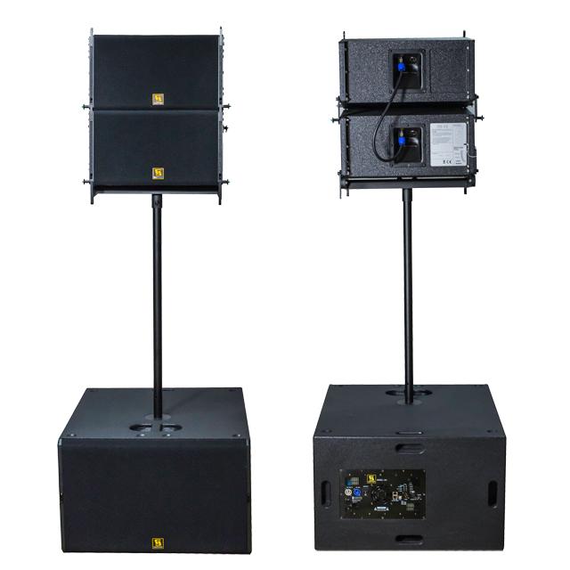 VR10 active line array system