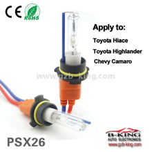12V 35W PSX26 3000K 5500K 8000K HID convertion xenon kit