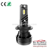 Canbus H7 6000lm 56watts 360 degree adjustable mini car led headlight