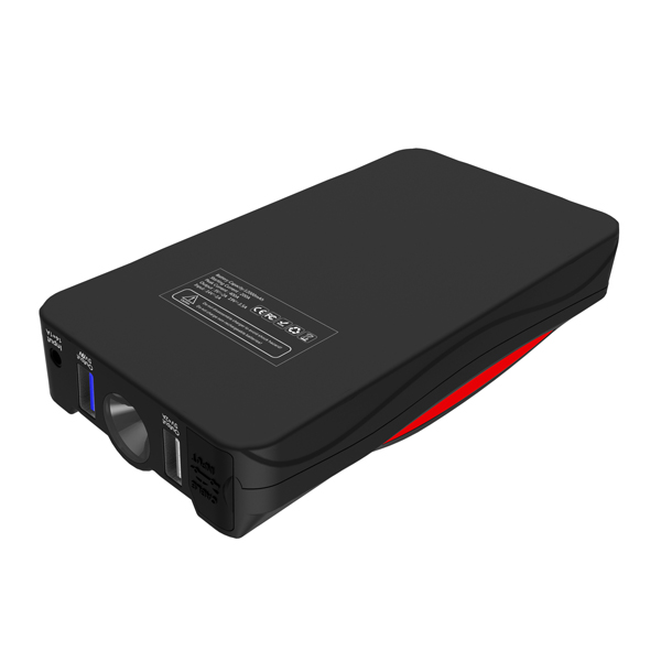 new 12000mAh quick charge multi-functional car jump starter power bank