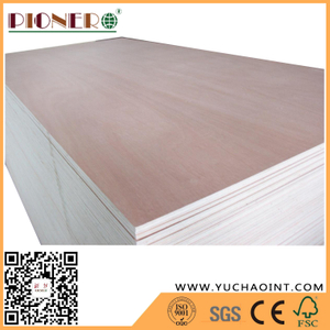 Competitive Price Commercial Plywood with Poplar Core