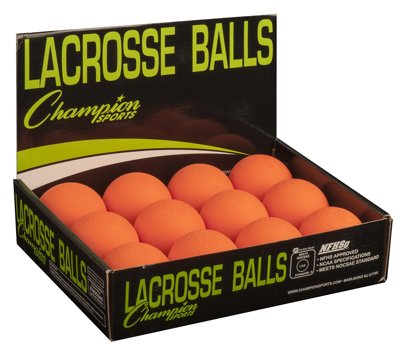 Factory-direct lacrosse balls with SEI&NFHS standard