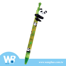 Ball-Point Pen / Mechenical Pencil With Panda Hugging