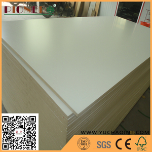 Decoration Garde Wood Grain Melamine Paper Faced MDF