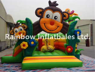 RB01010(4x5m)Inflatable monkey bouncer