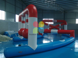 Inflatable Floating island Water obstacles sport games hot sale RB32085