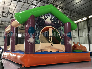 RB3096( 4x3x2.4m) Inflatable giraffe Bouncy Combo and Slide for sales