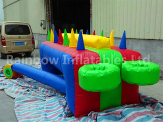 RB9043(4.55x1.32x1m) Inflatable Potato Games/Inflatable Floating Ball Game