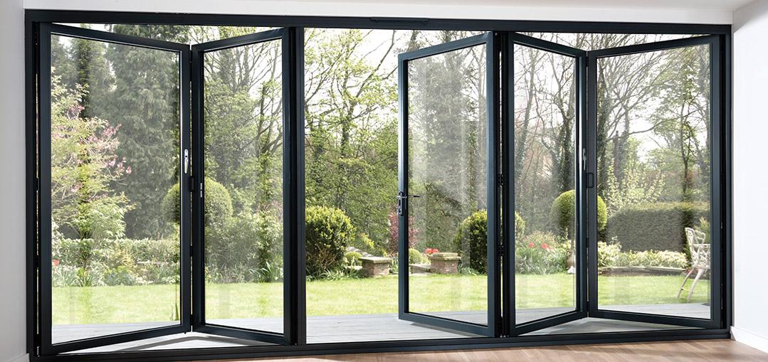 Folding Exterior Doors Bi Folding Exterior Patio Doors Look