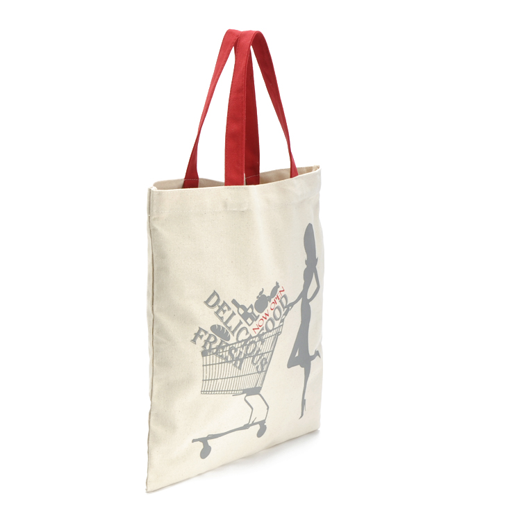 Natural Cotton Shopping Tote Bags - Shoppers