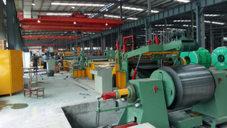Price of automatic stainless steel slitting line machine in China