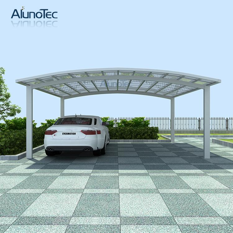 Aluminium Car Shelters : Modern aluminum polycarbonate carport car shelter buy