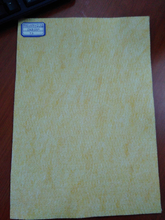 High temperature blended fiberglass felt
