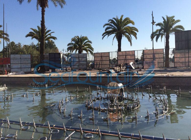 Morocco fountain dancing fountain outdoor fountain 8