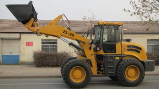 Hydraulic transmission CE wheel loader ZL20