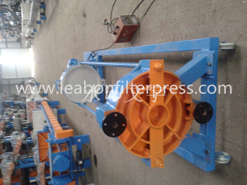 Hydraulic Chamber Plate Filter Press Ceramic Slurry Filter Press