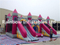RB4028(6x8x4m)Inflatables Double Slides Funcity