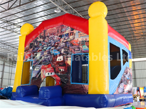 RB2009-1(4x4m) Inflatables Auto Story Combo For Amusement