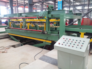 High speed automatic aluminum steel sheet coil cut to length line