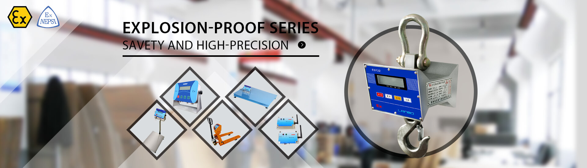 explosion-proof weighing scales