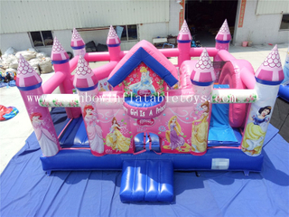 RB3059( 6x5m ) Inflatables popular Pink PrincesBouncy Combo