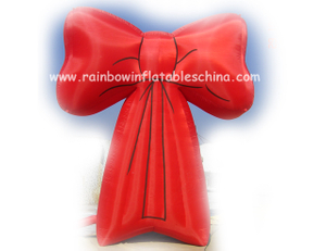 RB20010(0.54x0.4m) Inflatable Red Bowknot For Commercial Events
