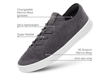 Giesswein launches world's lightest Merino wool sneaker