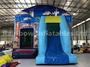 RB3099(4x5.5x4.5m) Inflatables Animal theme Bouncer with slide