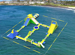 Inflatable Lake Floating Water Park China Supplier