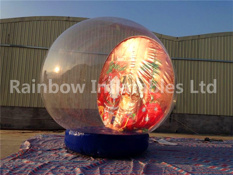 RB22040 (dia 4m) Inflatable snow ball for advertising