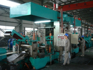High speed automatic four high hydraulic plate rolling machine