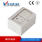 WST-S2S Impermeable 13A 2Gang Switch 1Gang Socket para baño
