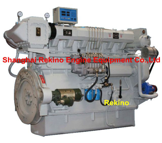 ZICHAI Z6150ZLCZ Medium speed marine propulsion boat diesel engine (200-440HP)