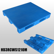 heavy-duty 1200*1000*150mm 3 Runners & closed deck hygeian plastic pallet
