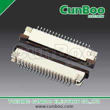 1.0S-CX-nPWB 1.0mm pitch FPC connector,with flip lock,top bottom,SMT type