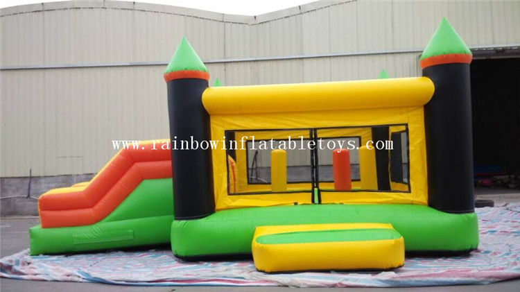 RB3026-1(7x4x4m) Inflatables Colorful Giant Pencil Bouncer Castle With Double Slides