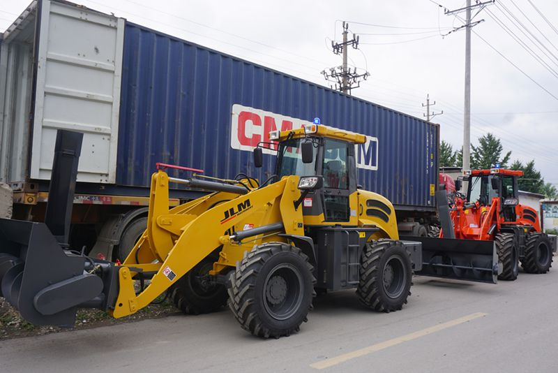 JLM 2.0 ton wheel loader zl20 with Cummins engine,price for sale