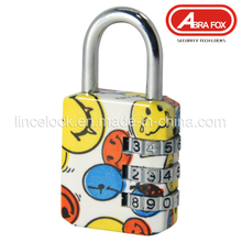 Zinc Alloy Colour Heat Plated Design Combination Padlock (801-2)
