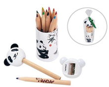 Color Pencil + Sharpener Set