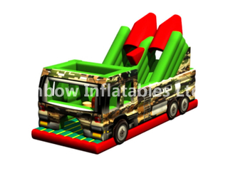 RB5200(4x10x5.5m) Inflatable Missile vehicle Obstacle Course for sales