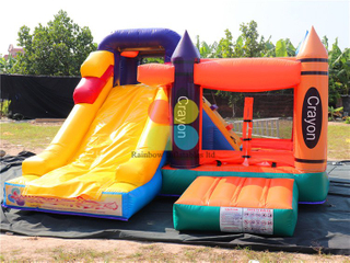 RB3108(3.6x3.5x2.5m) Inflatables Bouncer With Small Slide for sale