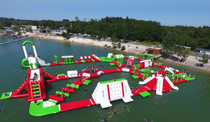Inflatable Island Biggest Floating Water Park for Sale