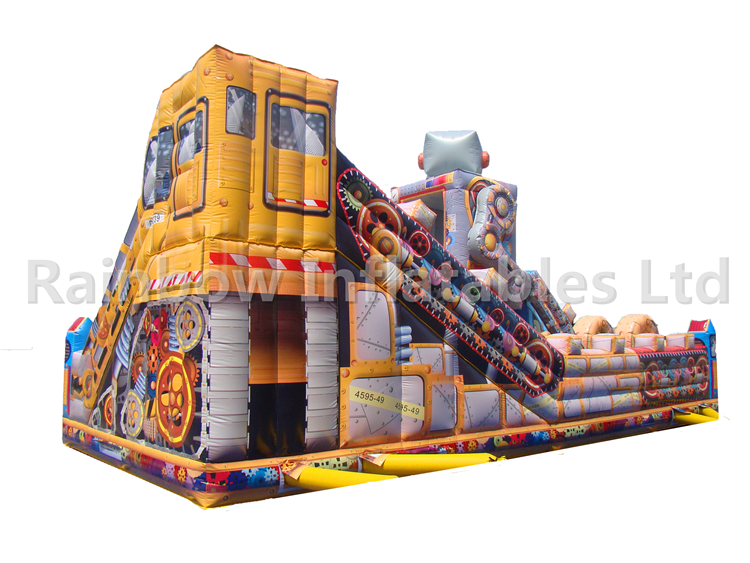 RB4126(13.5x6.5x5.6m) Inflatable robot funcity hot sale