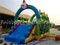 RB5002(8.5x4.4x3m) Inflatable Funny Clown Obstacle Course For Commercial Park