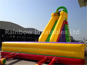 RB13012(13x8x8m) Inflatable Popular PVC Climbing Rock Game For Sale