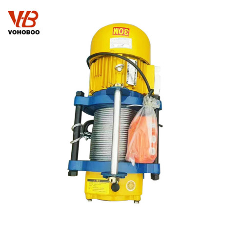 KCD Wire Rope Electric Hoist Winch