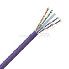 U/UTP CAT 6A BC PVC CMR Twisted Pair Installation Cable