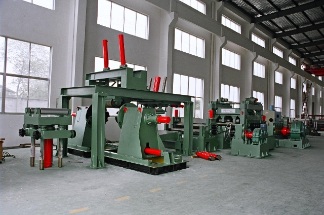 High speed automatic steel coil shearing/cutting line for sale