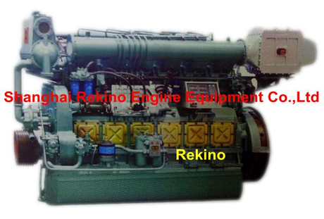 Ningdong N6160 Medium speed marine diesel engine 247-450PS